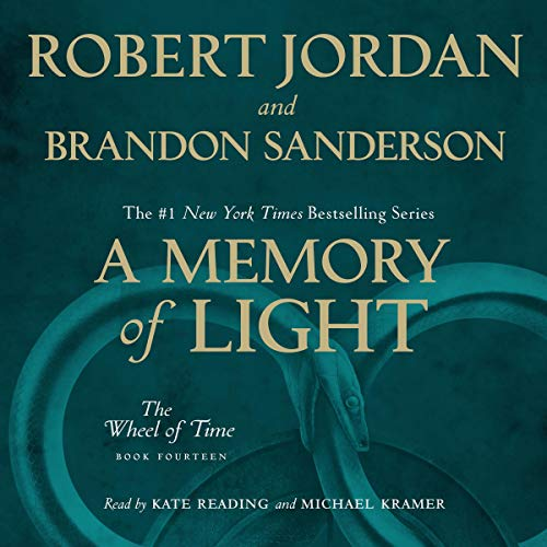 A Memory of Light audiobook cover art