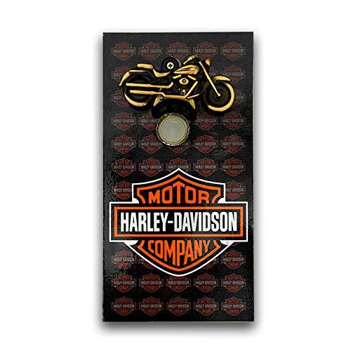 Abridor Garrafas Parede Harley Davidson Mdf Com Imã 25x13 Cm