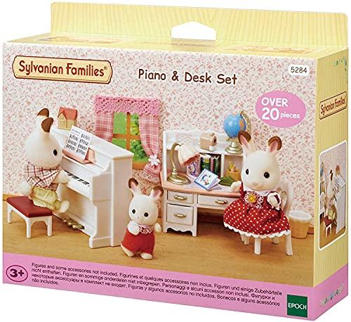 Sylvanian Families - 5284 - Set piano y escritorio