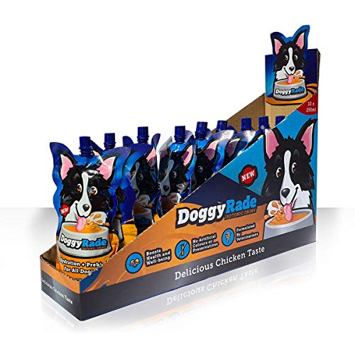 Doggyrade – Delicious Isotonic Drink for Dogs with Prebiotics,...