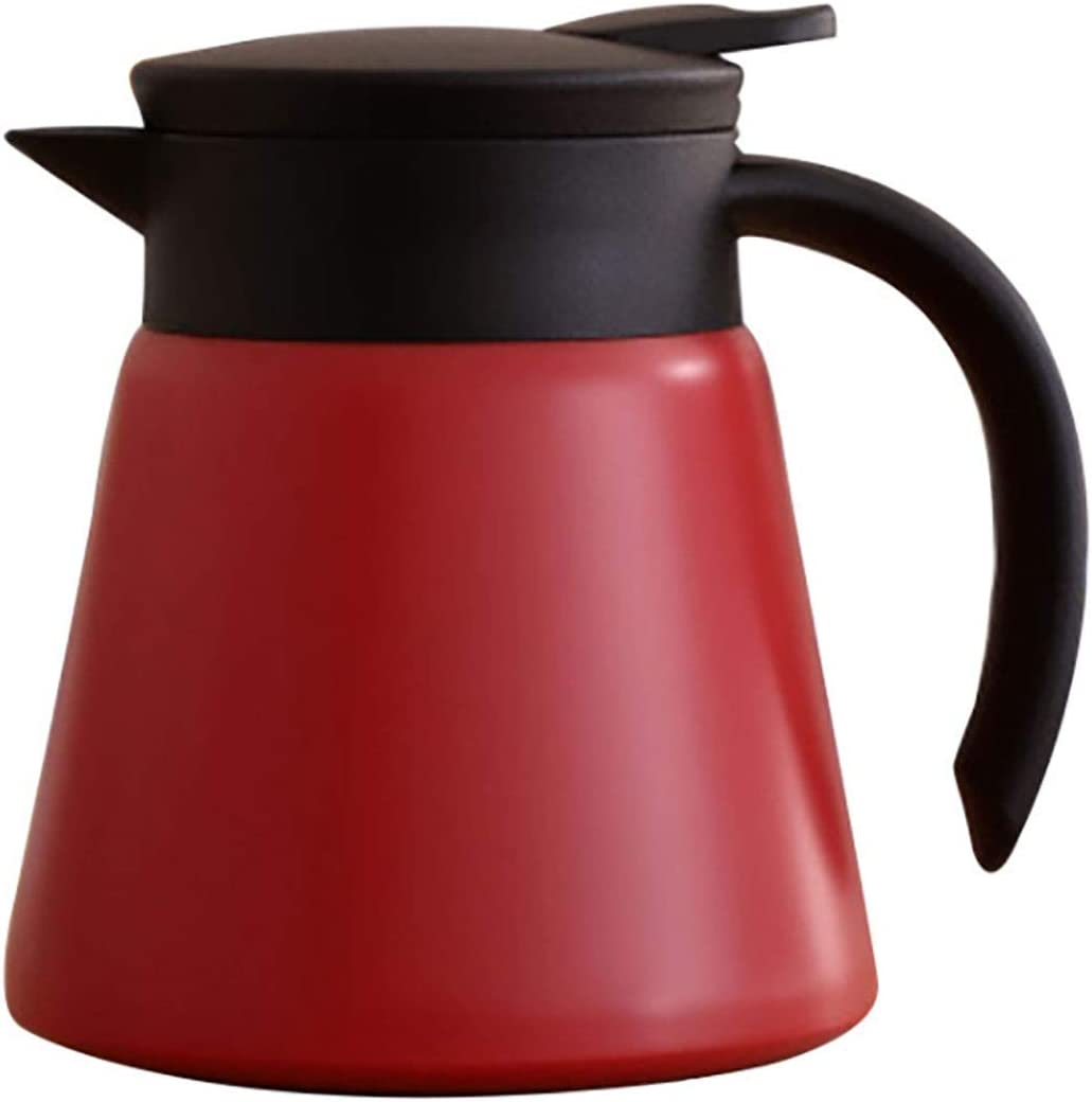 Goeielewe Thermal Coffee Carafe Tea Pot Steel Oz 20 Stainless In Outlet SALE Limited time sale