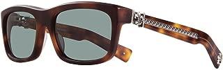 Chrome Hearts - My Dixadryll - Sunglasses (Matte Butterscotch Tortoise - Sun, Emerald Gray Glass Polarized)