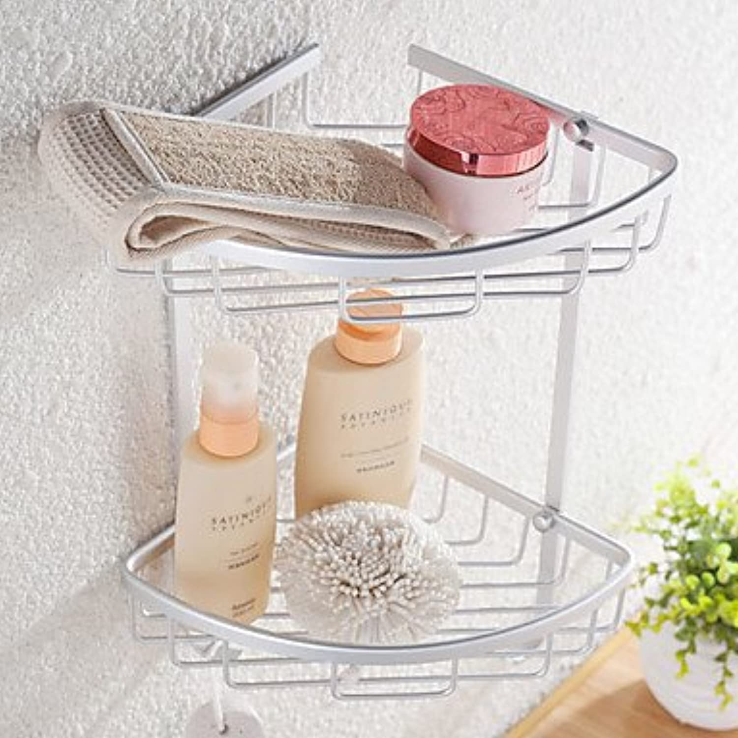 KHSKX Contemporary Anodizing Wall Mounted Bathroom Shelves