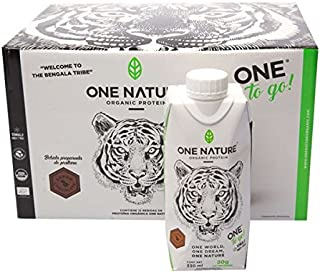 One to Go - 12 Pack - 330mL Proteina Vegana Bebible One Nature 100% Vegetal - Chocolate