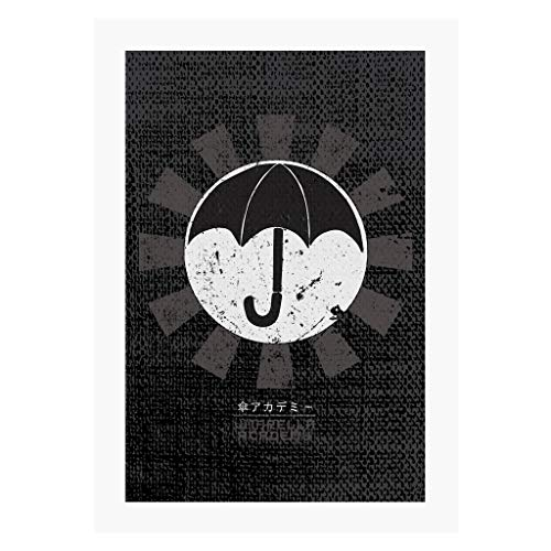 Cloud City 7 Umbrella Academy Retro Japanese A4 Print