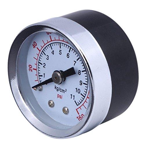 Milageto Presión de Compresor de Aire/Manómetro Hidráulico 1. Montaje Frontal de 5'1