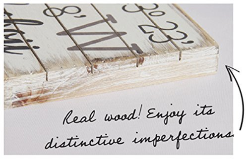 """Sincere Surroundings Perfect Pallet Petites 6"""" X 6"""" Wood Wall Art Sign (Sorry Mermaids Only)"""