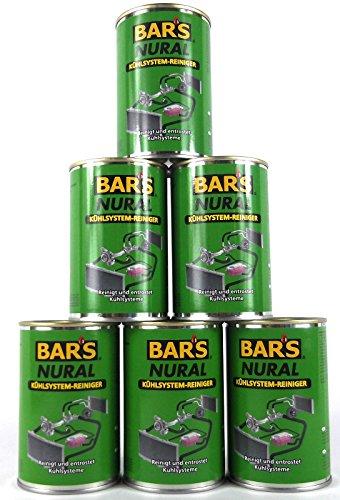 6X DR. WACK BAR'S Bars Nural Kühlsystem-Reiniger 150 g