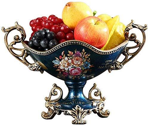 Allamp Nordic Doble Capa de Placa de Frutas Pastel de Frutas Plato Placa Bandeja de Horno Fruta Seca del Plato del Caramelo (Color: Blanco, Tamaño: M) Herramientas de Cocina, adecuadas para Picnic en