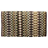 "Tahoe Tack 34"" x 38"" Reya New Zealand Wool Western Show Saddle Blanket Pad"