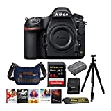 Nikon D850 Full Frame FX-Format Digital SLR Camera Body Holiday Bundle with 64GB SD Card and Accessories (5 Items)