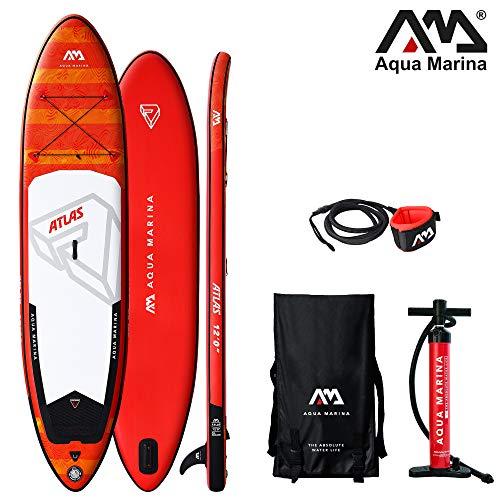 Aqua Marina Atlas aufblasbares SUP - ISUP, Stand Up Paddelboard 366x84x15cm