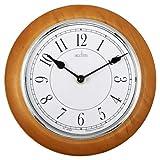 Acctim 24581 Newton Reloj de Pared de Madera Brillante