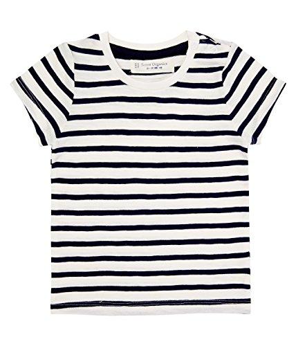 SENSE ORGANICS LIKO T-Shirt Streifen, Mehrfarbig (Navy-RFD Stripes 290005), 2 Mois Bébé garçon
