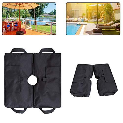 900D Oxford Cloth Heavy Duty Sandsäcke Regenschirm Gewichtstasche Wetterfester Sonnenschirmständer Feste Basis Winddichter Sandsack für den Außenbereich