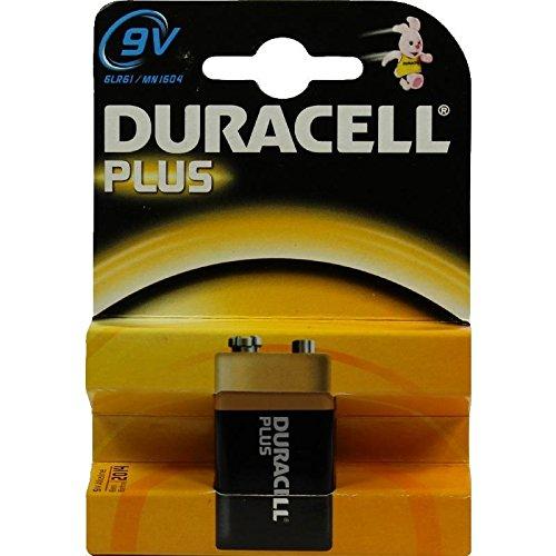 Duracell Plus - Pilas E Block 6LR61 9 V MN1064