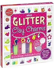 Make Glitter Clay Charms (Klutz)