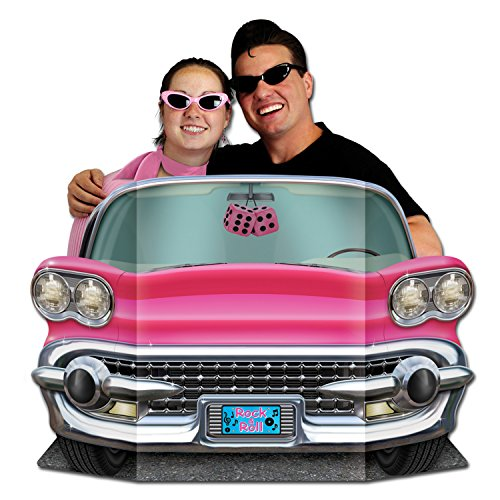 Price comparison product image Pink Convertible Photo Prop Party Accessory (1 count) (1 / Pkg)