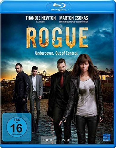 Rogue - Undercover. Out of Control. Staffel 1 (Episode 1-10 im 3 Disc Set) [Blu-ray]