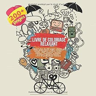 Livre De Coloriage Relaxant Grand Plus De 200 Pages Etoiles