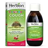 Herbion Naturals Cough Syrup for Children - 5fl oz - Good Tasting Supplement with Natural Honey & Cherry Flavor.