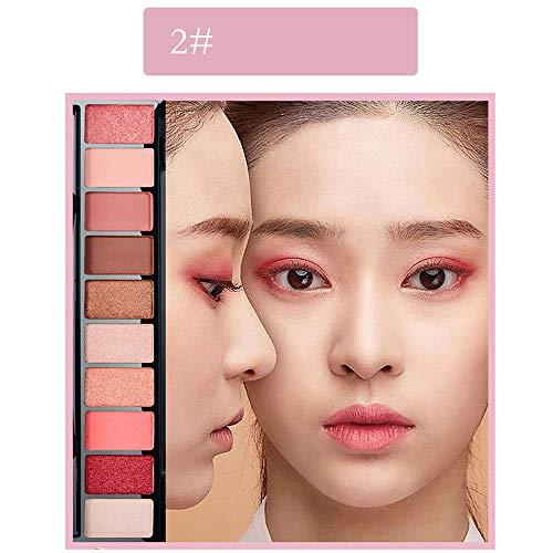 Eyeshadow Palette,18 Couleurs Twilight & Dusk Ombre À Paupières Maquillage Palette Chaude Matte Glitter Oeil Ombres Palette Naturel Longue Durée Cosmétique