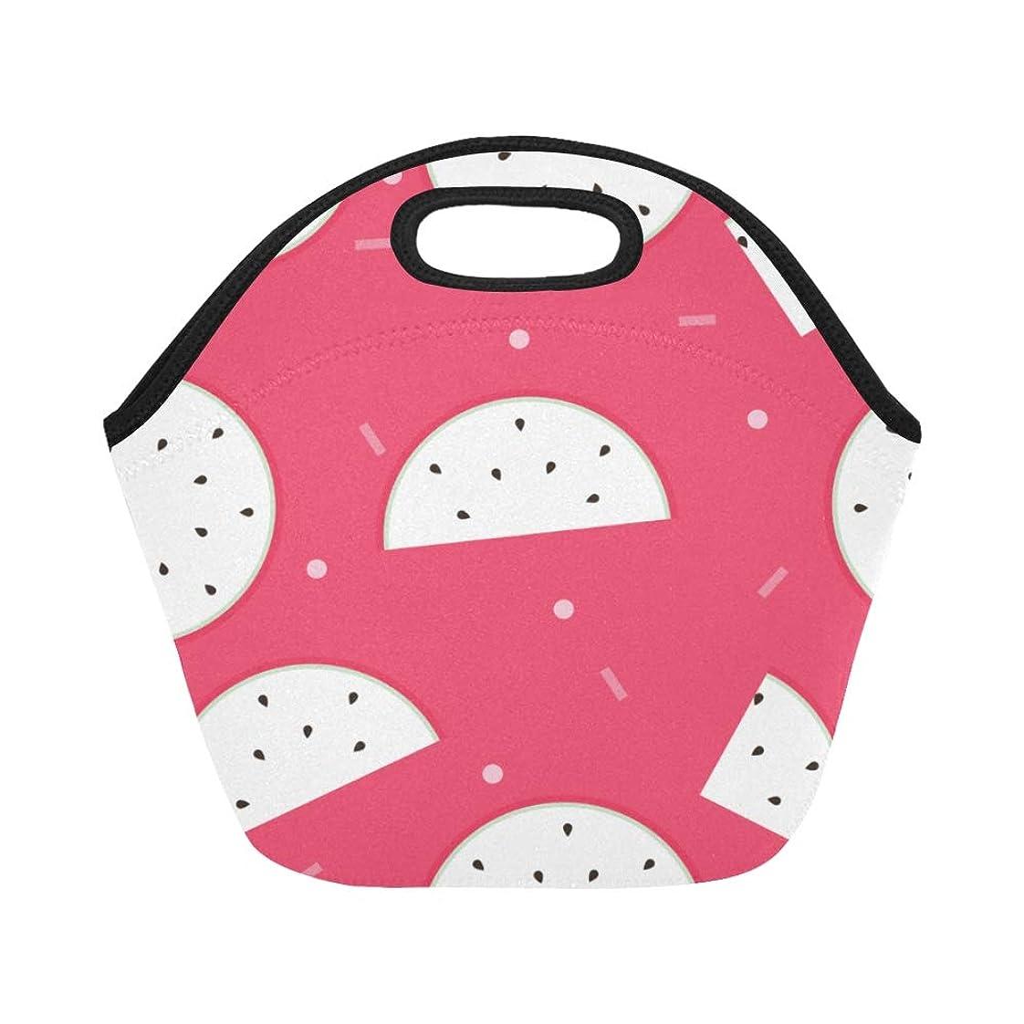 ゆでる論争の的テロGXMAN ランチバッグ 甘いドラゴンフルーツ 弁当袋 お弁当入れ 保温保冷 トート 弁当バッグ 大容量 トートバッグ