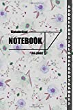 Alphabetical Notebook A4: Large Lined -Journal Organizer with A-Z Tabs Printed notebook journal