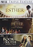 The Book of Esther / Apostle Peter and the Last Supper / The Book of Ruth Triple Feature