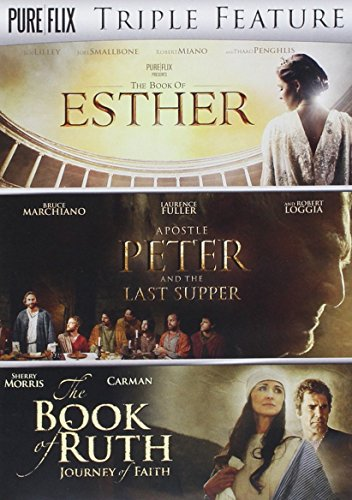 The Book of Esther / Apostle Peter and the Last Supper / The Book of Ruth Triple Feature [DVD]