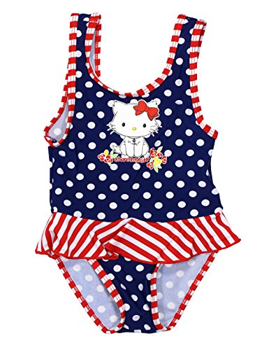Hello Kitty Official Baby-Girls Swimsuit 23 Months Blue