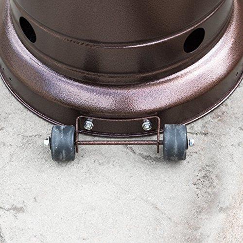 BELLEZE 014-HG-PH00-BRO 48,000BTU Premium Outdoor Patio Heater with...