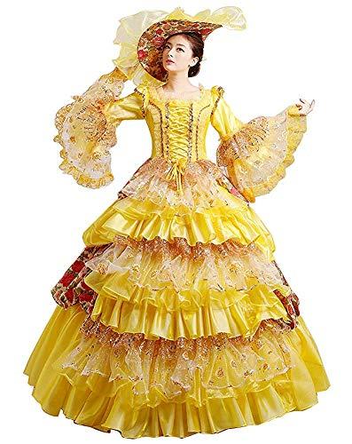 Rococo Robe de bal baroque Marie Antoinette 18ème siècle Renaissance historique victorienne Robe médiévale - - fait sur mesure: Dites-nous vos mesures