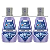 3 Pack -Crest Pro-Health Advanced with Extra Deep Clean Mouthwash, Clean Mint, 33.8 Fluid Ounce