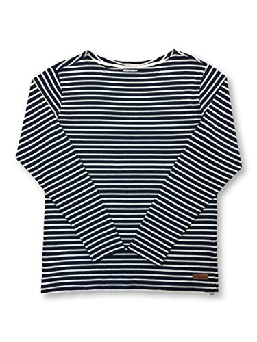 KNOWLEDGE COTTON APPAREL Knitwear Navy And Cream Stripe - XXL