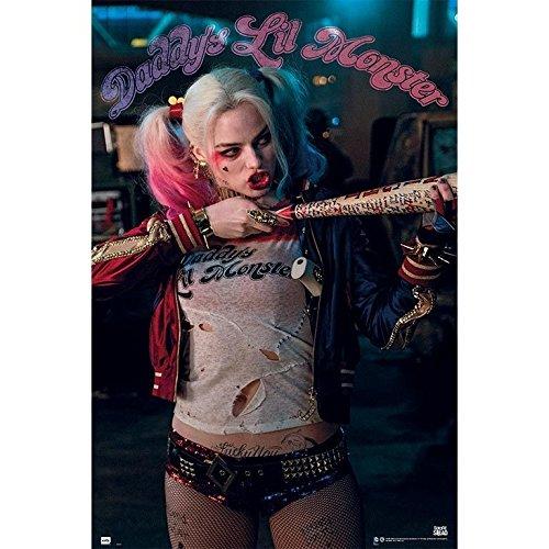Grupo Erik Editores - Poster mit Suicide Squad Harley Quinn-Motiv, 61x 91,5cm