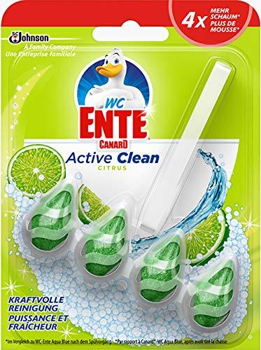 WC Ente Active Clean WC-Stein, Citrus Duft, 1er Pack (1 x 38,6 g)
