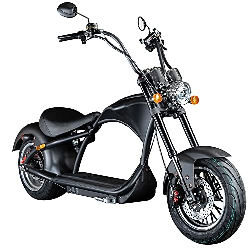 Chopper E-Mobil 45 km/h Elektro Roller E...