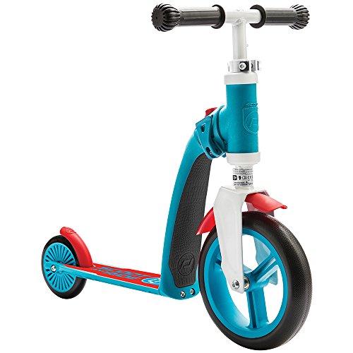 Scoot and Ride SARBABY_G Trotinette 2 en 1 Mixte Enfant, Bleu/Rouge