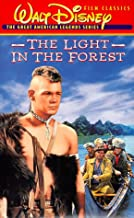 The Light in the Forest VHS