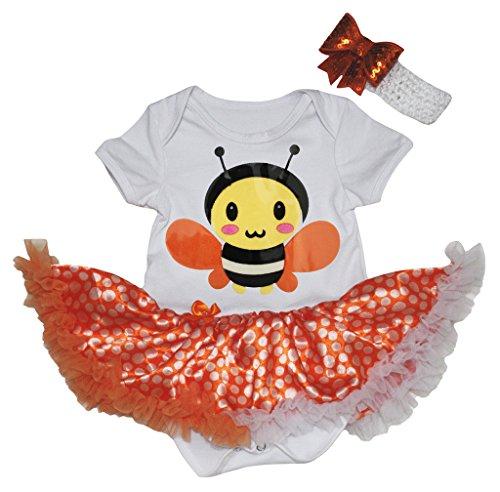 Petitebelle - Body - Bébé (fille) 0 à 24 mois orange Orange - orange - S