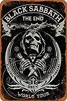 ブラックサバスウォールメタルポスターレトロプラーク警告ブリキサインヴィンテージ鉄絵画装飾バーゲームルームクラブのための面白いハンギングクラフト
