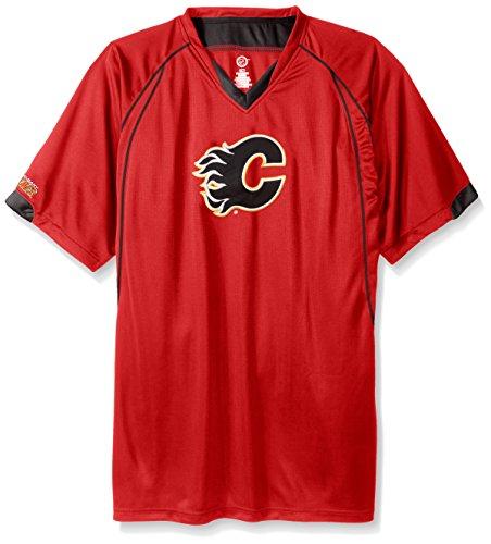 Profile Big & Tall NHL Team - Camiseta de Manga Corta para Hombre, Hombre, NHLLEGACY-FL - Red - 3X, Rojo, XXX-Large