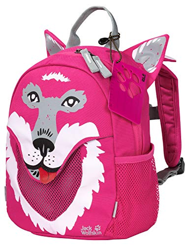 Jack Wolfskin Kids' Little Jack backpack Children's, Pink Peony, ONE SIZE