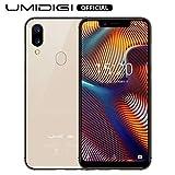 Téléphone Budget, UMIDIGI A3 Pro 2 Nano SIM + 1 MicroSD Téléphone Portable Débloqué, 3Go...