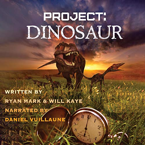 Project: Dinosaur audiobook cover art