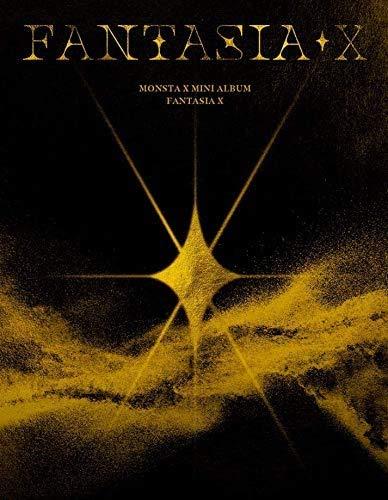 MONSTA X [FANTASIA X] 8th Mini Album VER.3 CD+POSTER+Libro de fotos+tarjeta+Sticker+Pre-Order SEALED+TRACKING CODE K-POP SEALED