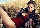 Poster Jennifer Lawrence die Hunger-Spiele actrice Sterne