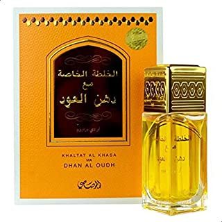 Perfume Khaltat Al Khasa Ma Dhan Al Oudh by Rasasi for Unisex - Eau de Parfum, 50ml