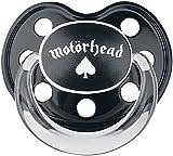 Motörhead Motörhead Logo Unisex Chupete Bebé Negro 6-18 Mon, Plastico,